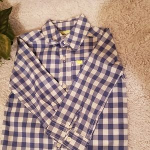 18m longsleeve botton down boy top